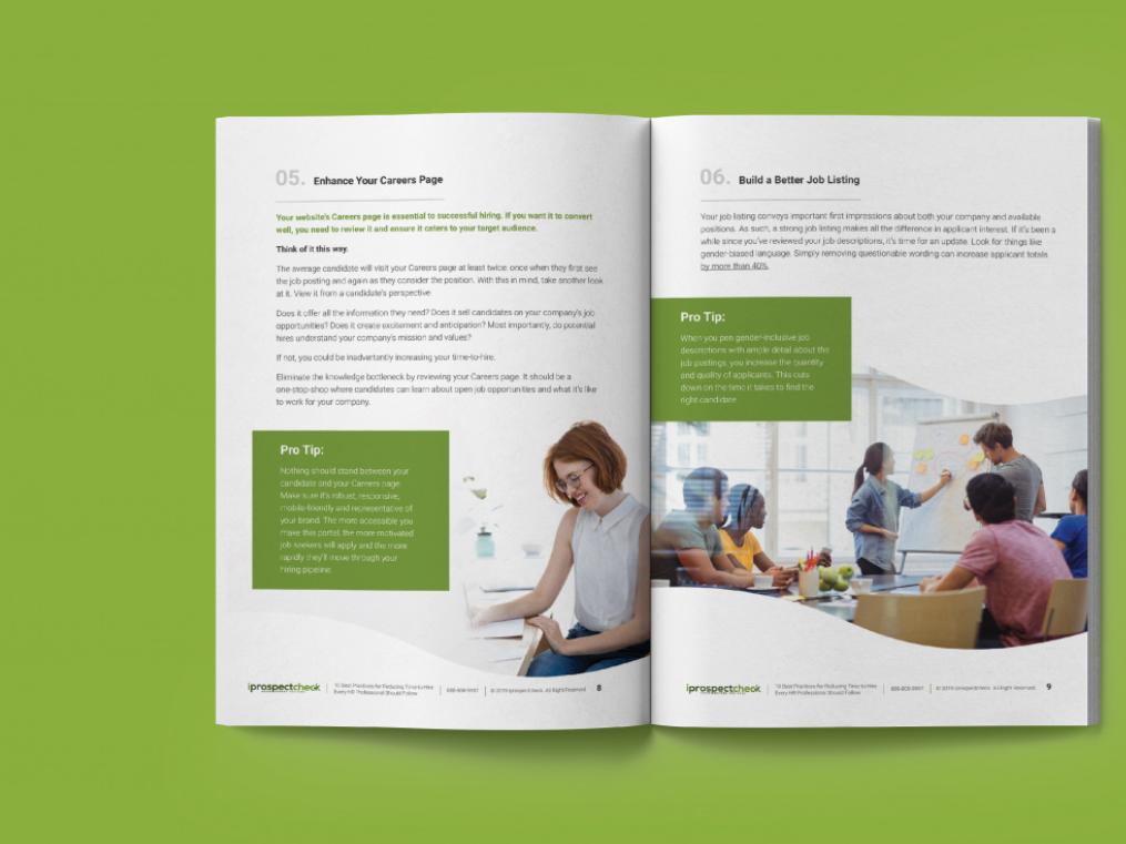 ebook design and development
